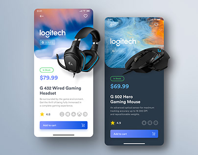 Daily UI - Tech Store Product page