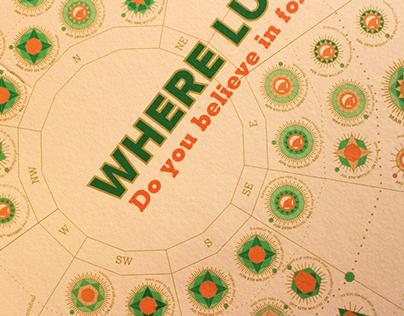Unconventional Calendar Where Luck Lies | Infographics