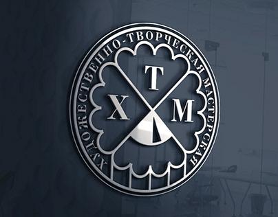 """""""ХТМ"""" художественно-творческая мастерская. Logo."""