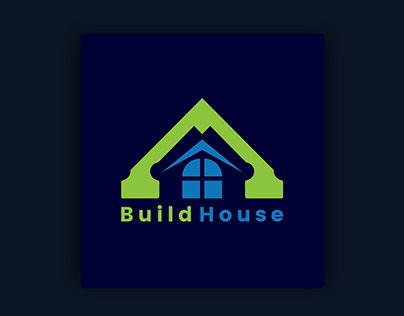 creative build home logo