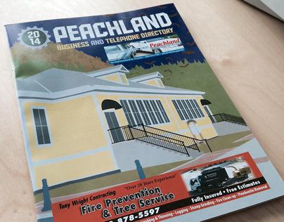 Peachland Phone Book Cover