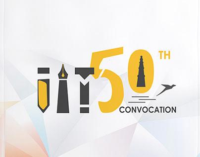 IIT Delhi 50th Convocation Logo Design