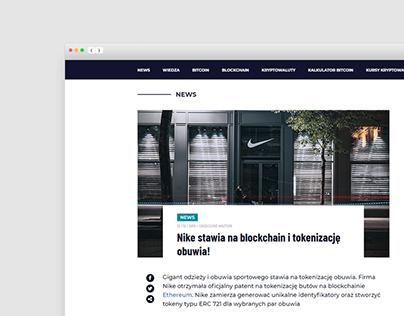 WEB DESIGN | Crypto News