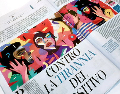 "Editorial | Corriere della sera | ""How to be Happy?"""