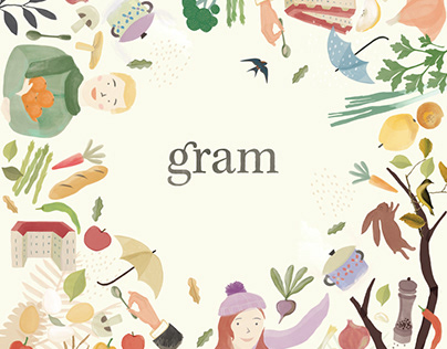 Gram Fall Illustration