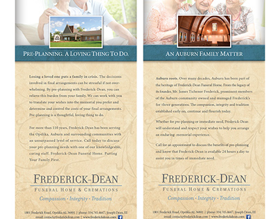 Rebrand - Frederick Dean Funeral Home