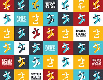сorporate style Luchesk half marathon 2018