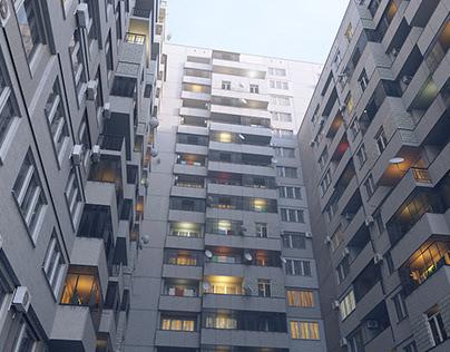 Procedural Apartment Blocks