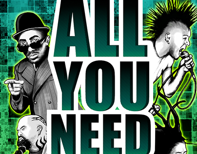 All You Need Is MUSIC - Poster