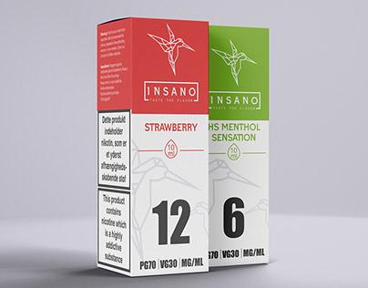Packaging Design For Ecig Company