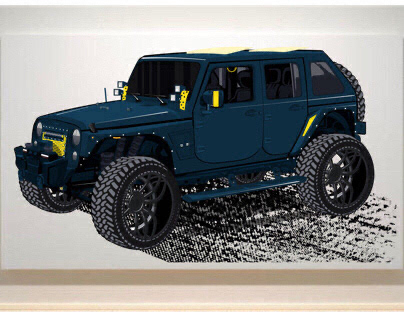 Custom Car Design Project - car007