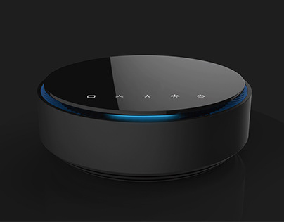 intelligent air purifier 智能空气净化器