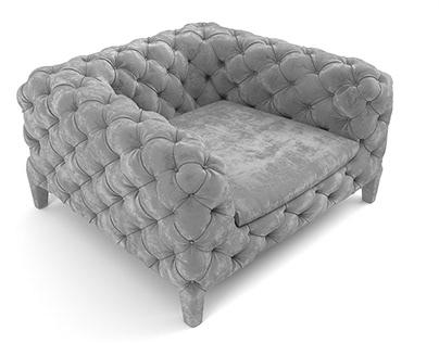 Arketipo Windsor armchair 3d model