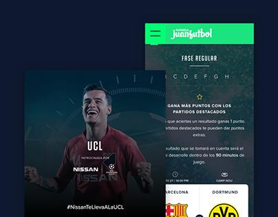 Quiniela juanfutbol Champions League 2019-2020