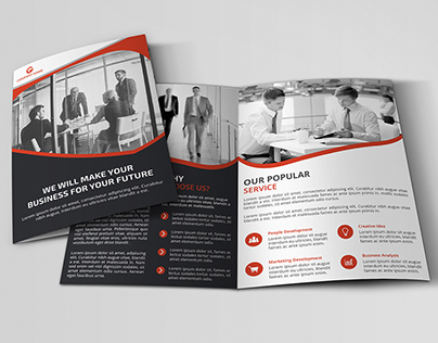 Corporate Bi-fold Brochure