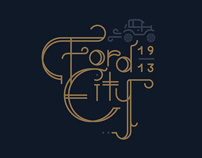 Ford City Typography
