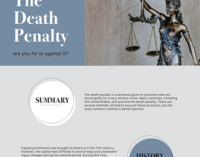 The Death Penalty microsite