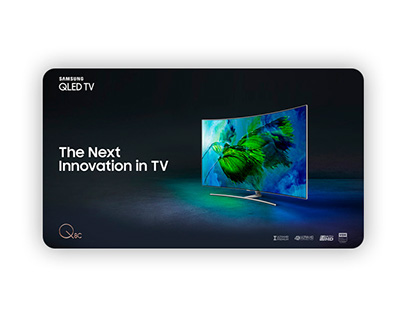 Samsung QLED TV - Landing Page Product