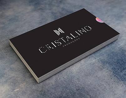 Cartão de visita - Cristalino