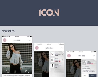 Icon - Fashion App