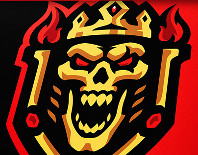 Kings of Death Skull eSports Logo