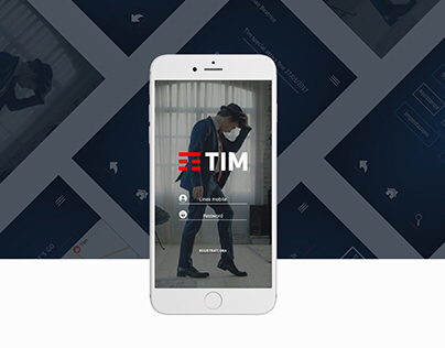 App redesign // Tim UX/UI
