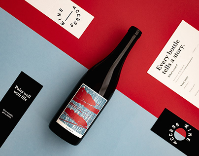Color block images for Wine Access