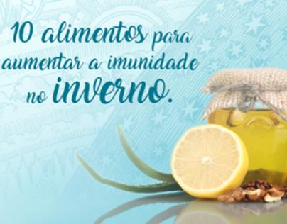 10 alimentos para aumentar a imunidade no inverno