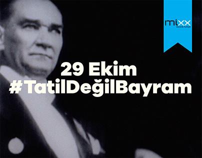 29 Ekim #TatilDeğilBayram