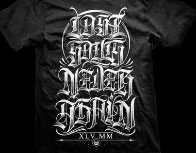 45MM - Calligraphy & Tshirts
