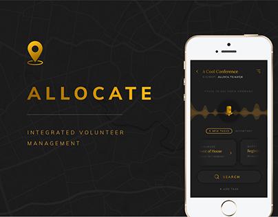 Allocate - Case Study, Integrated Volunteer Management