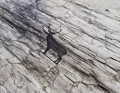 Mockup of wood