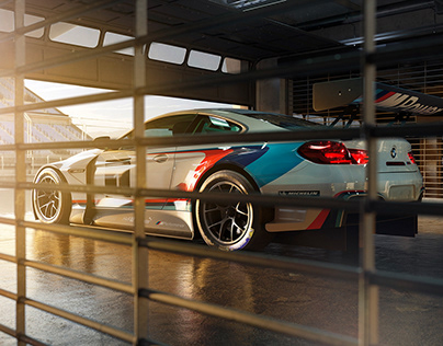 "100%CGI Bmw M6GT ""Morning Race"""