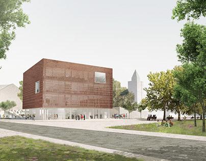 Hódmezővásárhely Library Architecture Competition