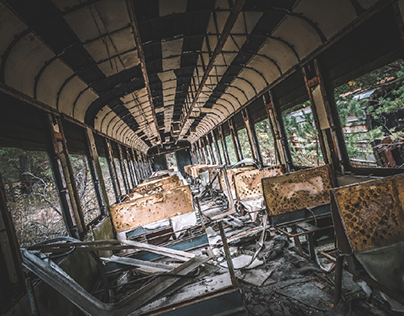 CHERNOBYL EXCLUSION ZONE / TRAINS