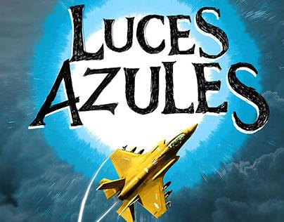 LUCES AZULES// ILUSTRACION
