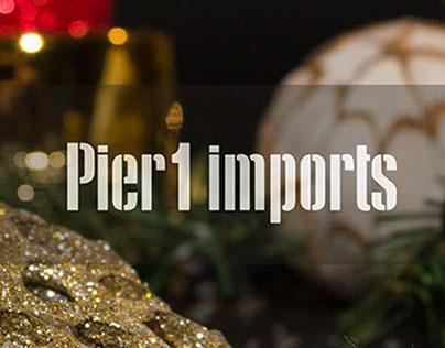 Pier 1 Imports: Holiday Mini Catalog, Christmas