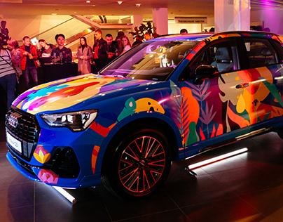 Audi Q3 - Jungle design
