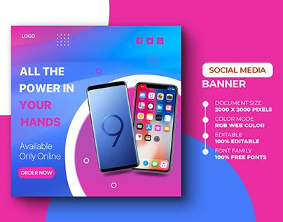 E-Commerce Social Media Post Template