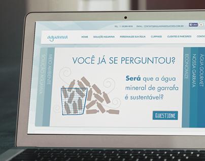Agua Viva Soluções - Website