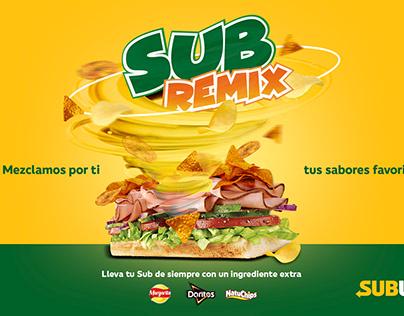 Campaña Pepsico Subway
