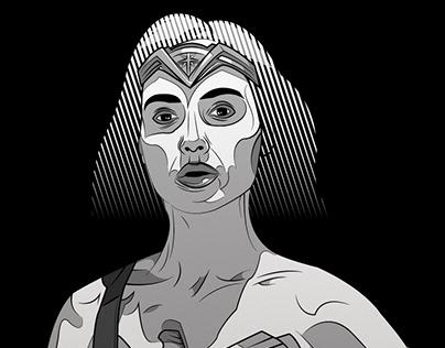Wonder Woman - Illustration