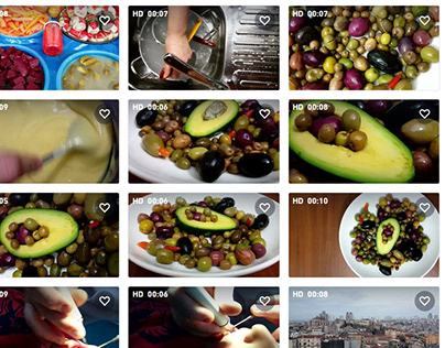 Olive video gallery on shutterstock