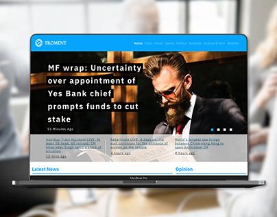 Troment New website