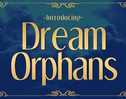 Free Font: Dream Orphans