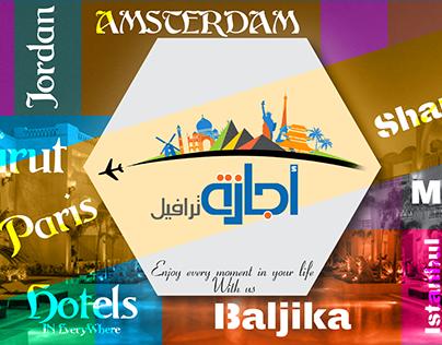 Printing & social media Designs For Agaza Travel