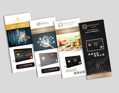 UnCard Design Credit Card Flyer Collection