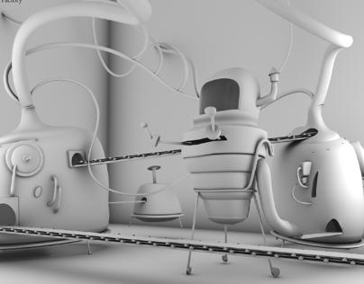 Concept to 3D, Maya