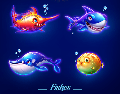 Fishes - Solitaire Ocean Adventure