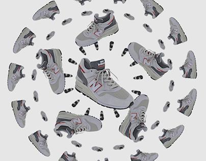 Shoe Mandala